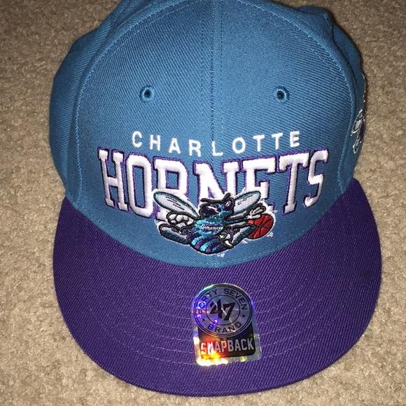 237b1905ba4 Hardwood Classic Charlotte Hornets snapback hat